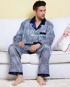 Mens 2 Piece Pajamas