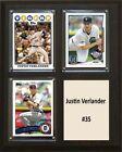Justin Verlander MLB Plaques