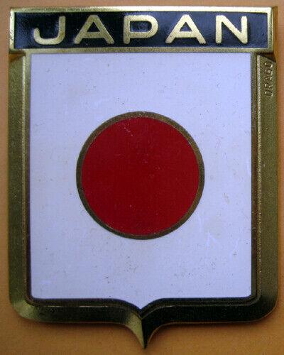 Badge auto car drago 1950s original Japan Japanese Asia Asian