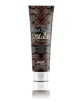 Bronzer Indoor Tanning Lotion (Devoted Creations Fast Track To Black Indoor Skin Tanning Bronzer Lotion - 250ml)