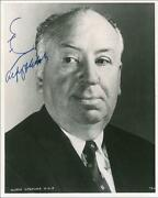 Alfred Hitchcock Signed