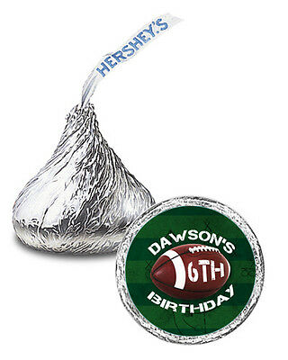 Football Party Favors (108 Football Birthday Party Favors Football Sports Personalized Kisses)