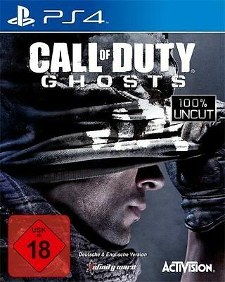 Sony PS4 Playstation 4 Spiel * Call of Duty Ghosts * COD...