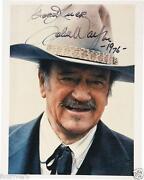 John Wayne Autograph