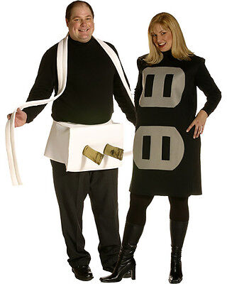 Plus Size Plug and Socket Couples Costume - Socket Costume Couple
