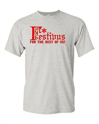 Adult Festivus For The Rest Of Us Funny Humor Parody Christmas T-Shirt (Festivus For The Rest Of Us Shirt)