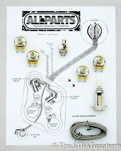 guitar wiring kit new les paul pots switch wiring kit for gibson guitar complete diagram