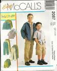 Boys Shorts Sewing Pattern