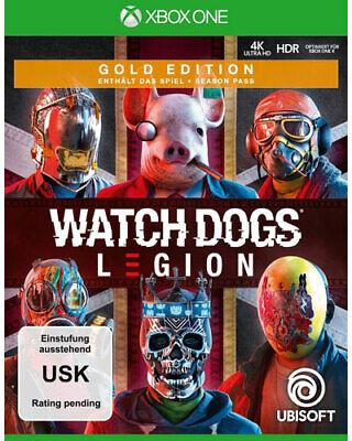 Watch Dogs Legion Gold Edition - Xb-One Xbox One German Version Preorder