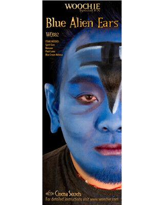 Blue Alien Ears Halloween Costume Accessories - Alien Halloween Costume Accessories