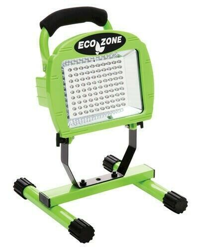 Coleman Cable 108 LED Rechargeable Portable Home Work Light L1313 Woods EcoZone