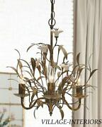 Porcelain Flowers Chandelier