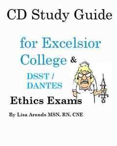 DSST / Excelsior College  ETHICS Exam Test Prep Study Guide w Pratice Tests +
