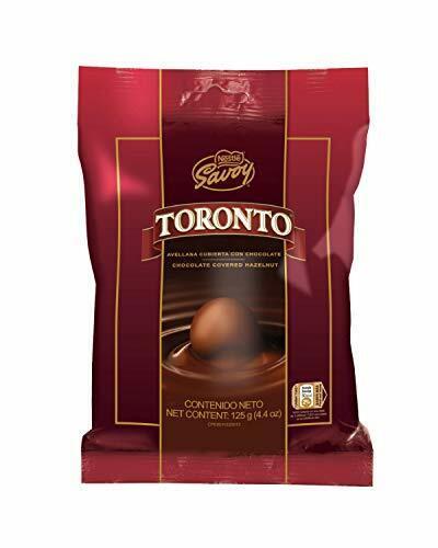 Nestle Savoy Toronto Avellana 125g containing 14 pieces