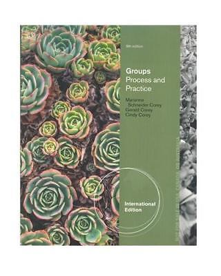 New - Free Express Ship - Groups: Process and Practice by Corey (9 Ed)