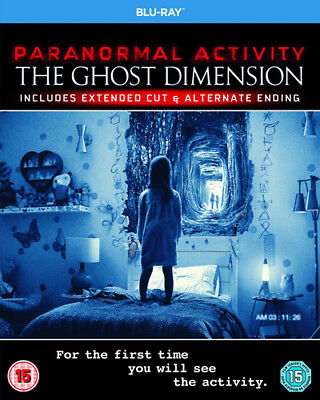 Paranormal Activity: The Ghost Dimension: Extended Cut Blu-Ray (2016) Olivia