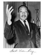 Martin Luther King Autograph