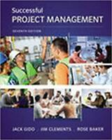FOR SALE Successful Project Management 7th ED: Gido & Clements