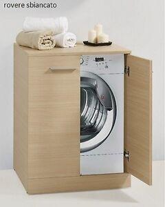 Coprilavatrice portalavatrice mobile per lavanderia ebay for Mobile coprilavatrice ikea