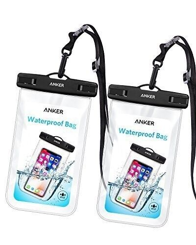 Anker Universal Waterproof Case, IPX8 Waterproof Phone Pouch