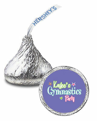Gymnastic Party Favors (108 Gymnastics Birthday Party Favors Personalized Kisses)