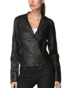 03a31cef53fd Calvin Klein Women Leather Jacket