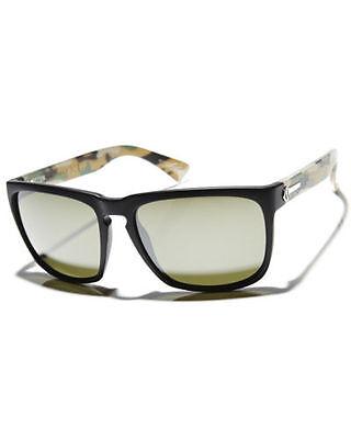 ELECTRIC Men's Jungle Matte Black  Silver Chrome Knoxville XL Sunglasses