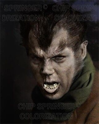 HENRY HULL THE WEREWOLF OF LONDON HALLOWEEN MONSTER COLOR PHOTO BY CHIP - Halloween Werewolf Of London