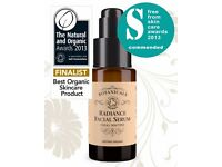 Botanicals Organic Radiance Facial Serum Cruelty free natural no animal testing