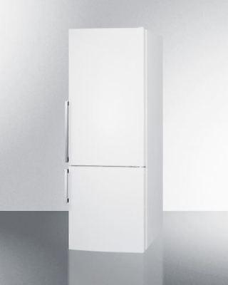 Frost-Free Energy Star Bottom Freezer Refrigerator- White (Bottom Freezer Energy Star Refrigerator)