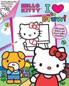 Hello Kitty: I Love to Draw! by Feldman, Thea -Paperback