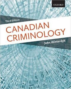 LAURIER WLU TEXTBOOK Canadian Criminology 3rd edition