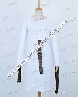 Alice Madness Returns White Dress Leather Belts Party Halloween Cosplay Costume](Alice Madness Returns Halloween)