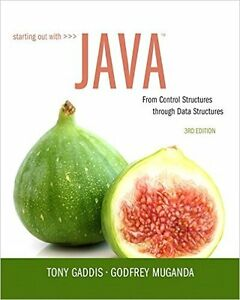 Starting out with Java Textbook