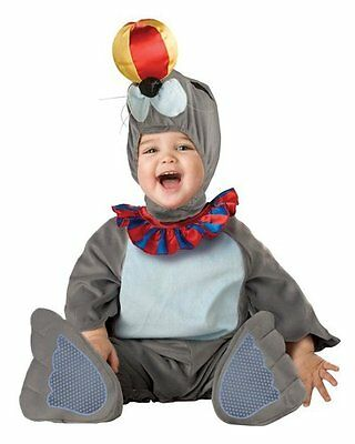 New Silly Circus Seal Plush Baby Toddler Infant Costume 6-12 Months