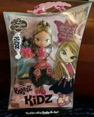 Bratz Kidz Doll - Yasmin with Outfits and Kids Barrette NEW IN BOX
