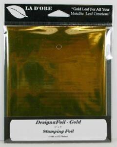 La D'ore DESIGNAFOIL GOLD LEAF 6