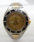 Omega Ladies Stainless Steel Watch
