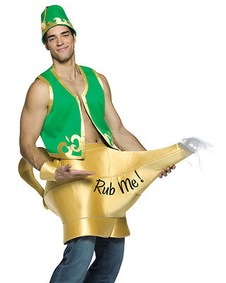 Genie in the Lamp Costume - Male Genie Costume