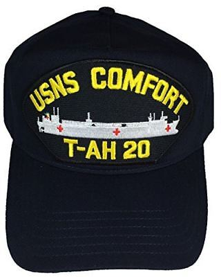 USN NAVY HOSPITAL SHIP USNS COMFORT T-AH 20 HAT CAP MERCY CLASS