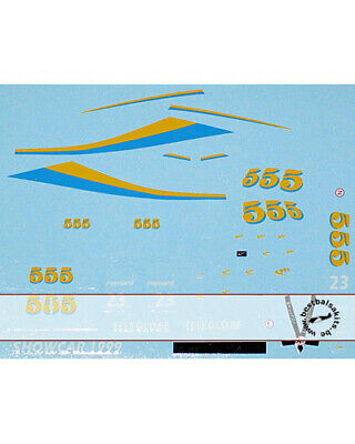 1/43 FULL DECAL 555 BAR HONDA 01 SHOW CAR for PMA