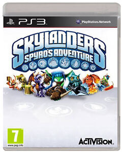 SKYLANDERS-SPYROS-ADVENTURE-GAME-ONLY-PS3-NEW-UK-STOCK-SONY-PLAYSTATION