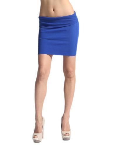 royal blue bodycon skirt ebay
