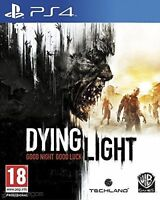 WANTED! Dying light ps4