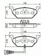 Bremsbeläge Audi A3