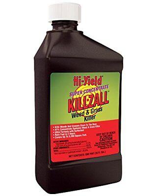 Hi-Yield Killzall: Weed and Grass Killer Concentrate 32 OZ 41% Glyphosate Grass Killer Concentrate