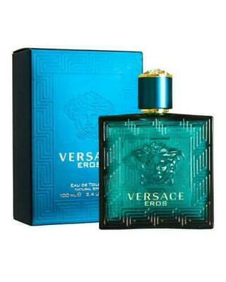 Versace Eros By Gianni Versace 3.3 / 3.4 Oz EDT Spray NIB Sealed Cologne For Men