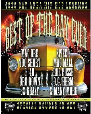 4080 Bay Area Hip Hop Legends-Best Of The Bay Ever [CD
