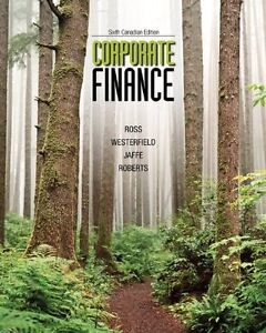 Corporate Finance 6th Canadian Edition