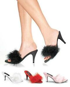 Heeled Slippers Ebay